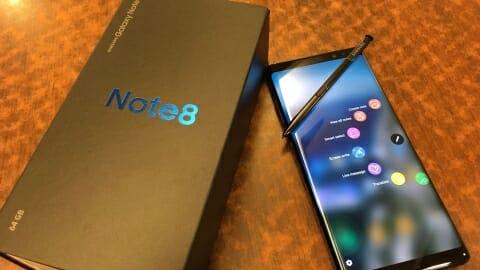 Samsung Note 8 plans
