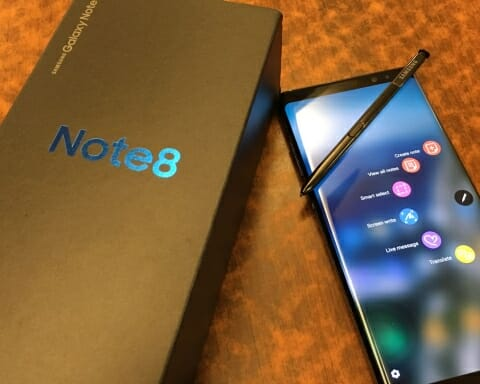 Samsung Note 8 plans