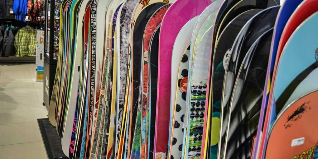 used Burton snowboards